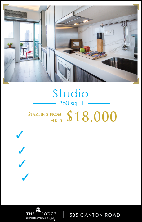 Studio (350 sq. ft.) - $15,000